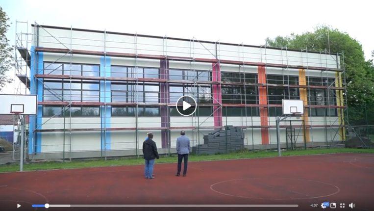 Budowa pasywnego budynku hali sportowej w Bełdowie trwa