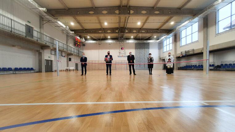 Oficjalne otwarcie Hali Sportowej w Makowie