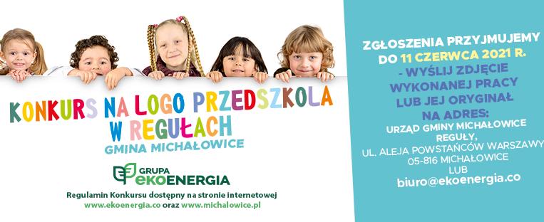 Konkurs na logo Przedszkola w Regułach